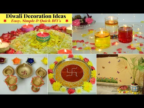 5 Min DIY for Diwali Decoration   Diwali Decoration Hacks   Diwali Home Decor Ideas   Urban Rasoi
