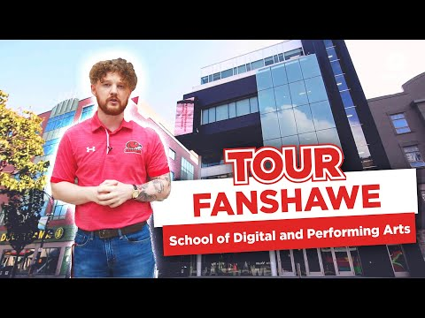 Take a tour of Fanshawe's School of Digital and Performing Arts!