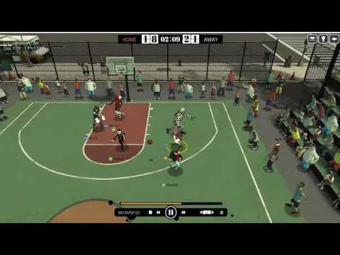 【バスケ】フリスタ2 FreeStyle2 良い試合だな^^b 【Street Basketball】