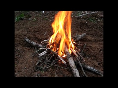 Summer Bushcraft Camping
