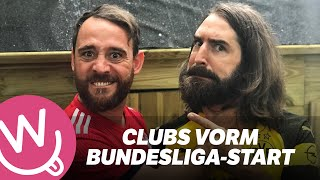 Clubs vorm Bundesliga-Start