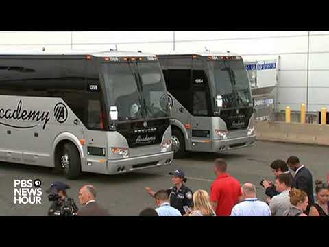 WATCH LIVE: U.S. women's soccer team arrives home after World Cup win