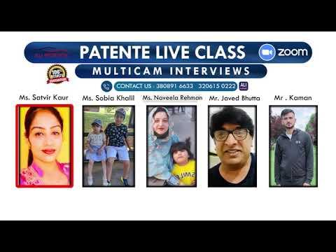 Patente Live Class | Multicam Interviews | Pass Students | Patente B | Ali Patente