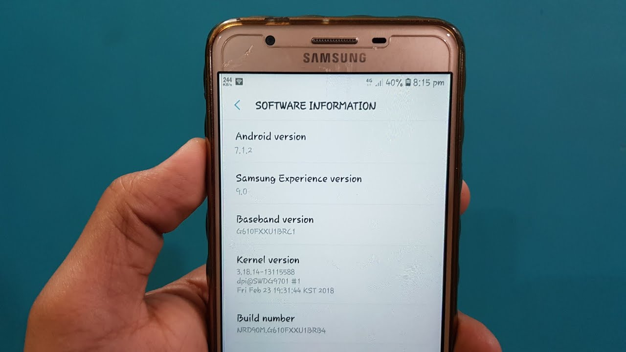 Samaung Android 7 1 2 update with Experience UI 9 0 | Full Samsung update  list
