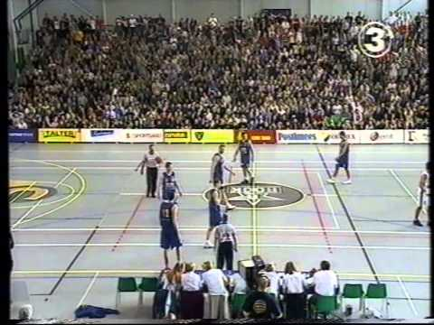 EMV finaalseeria esimene mäng Tartu Rock vs Tallinna Kalev 2002