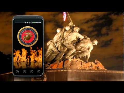 Marines Corps Animated Wallpaper for Android - YouTube