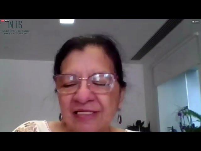 Discurso de Nashieli Ramírez Hernández, Presidenta de la CDHCM, en el Webinar del IMJUS A.C.