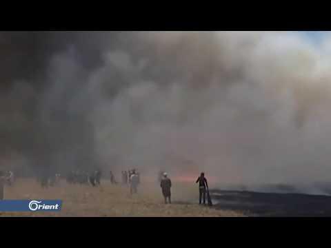 اشتباكات بين أهالي قرية عياش وميليشيا أسد الطائفية بدير الزور - سوريا