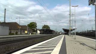 2 BR 411 Doppelter ICE T fuhr durch Gütersloh HBF