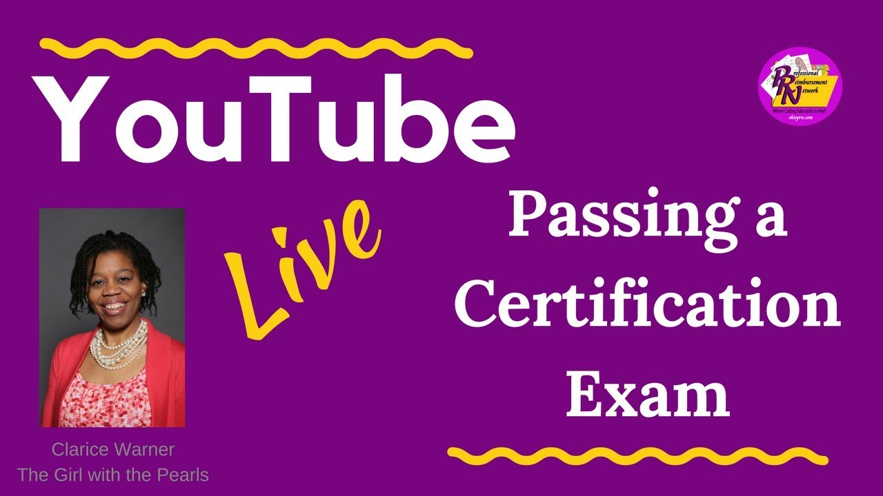 Tips to Passing Your Coding Certification Exam on the First Try!!