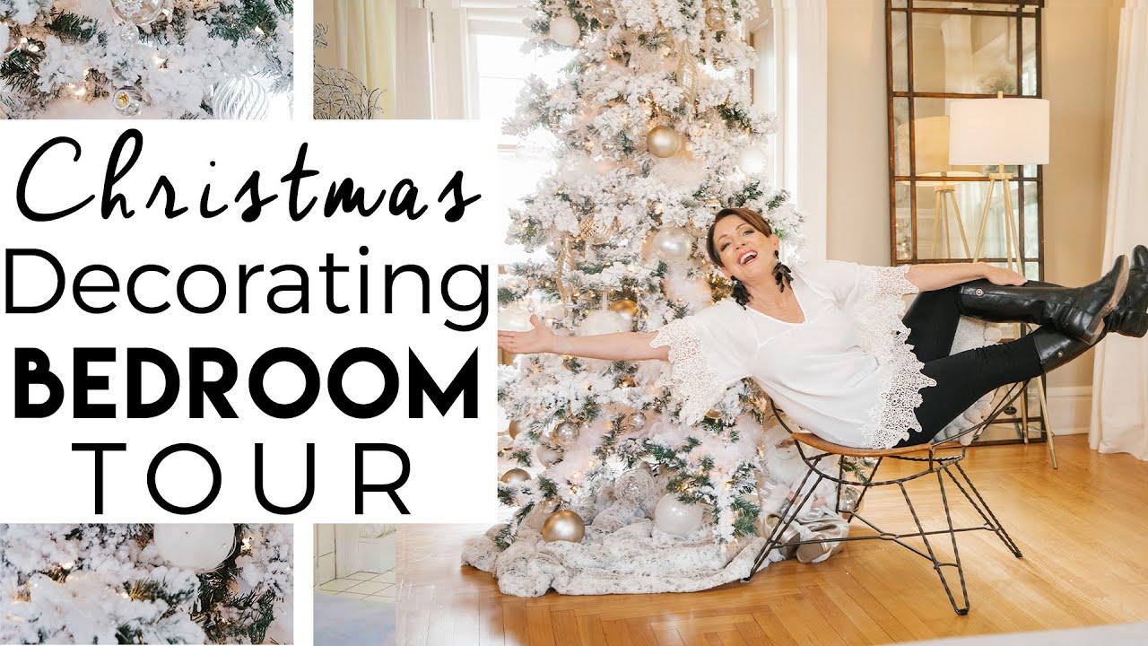 Christmas 2020 Youtube Christmas Decorating Bedroom Tour | Christmas 2020 | Kinwoven
