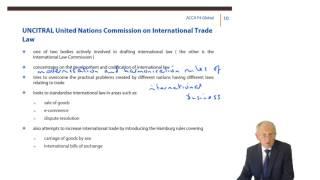 ACCA F4 Global - International organisations