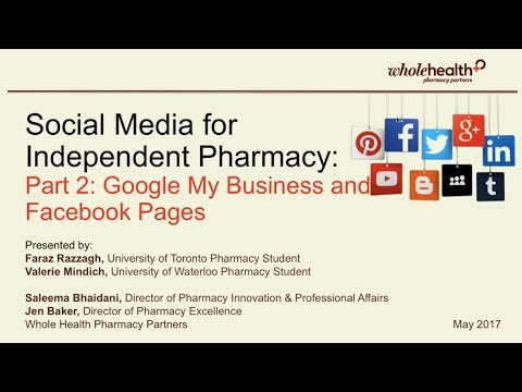 Social Media for Independent Pharmacy -  Part 2