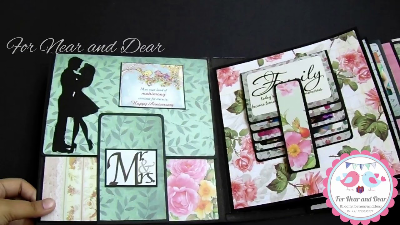 Best Anniversary Scrapbook Album