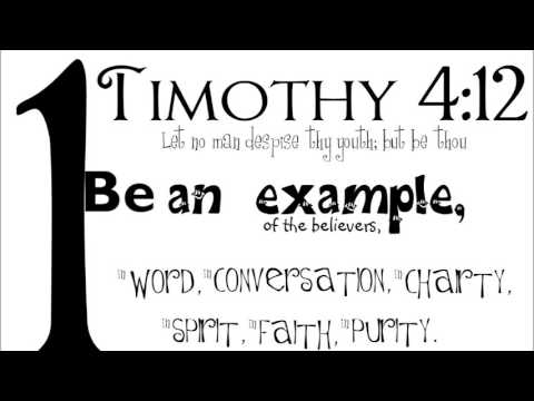 Be An Example