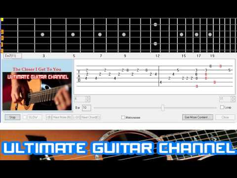 Guitar Solo Tab] The Closer I Get To You (Roberta Flack And Donny ...