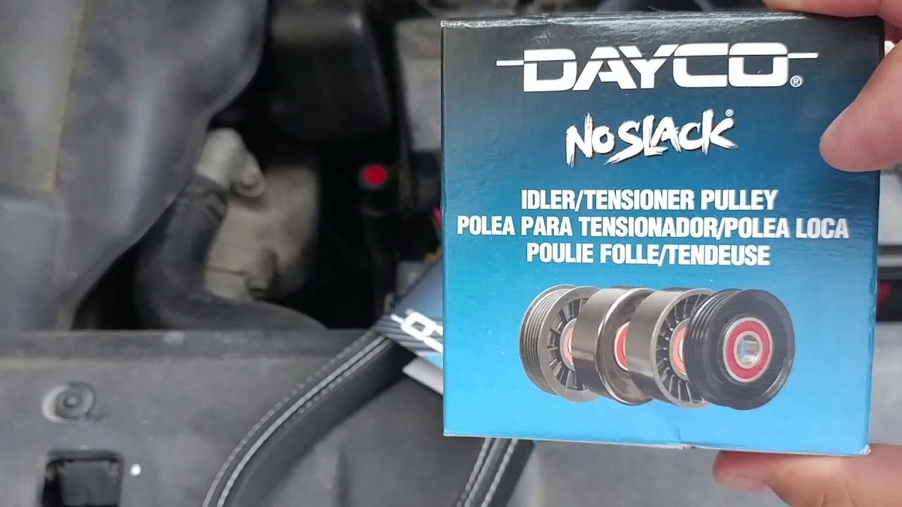 2008 kia sedona serpentine belt pulley removal [ 1280 x 720 Pixel ]