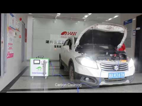 Okay Energy hho engine carbon clean machine CCS1000