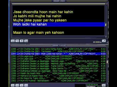 Woh Ladki Hai Kahan(Amy Version with lyric)