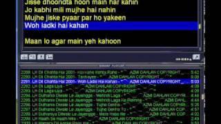 woh ladki hai kahan amy version with lyric