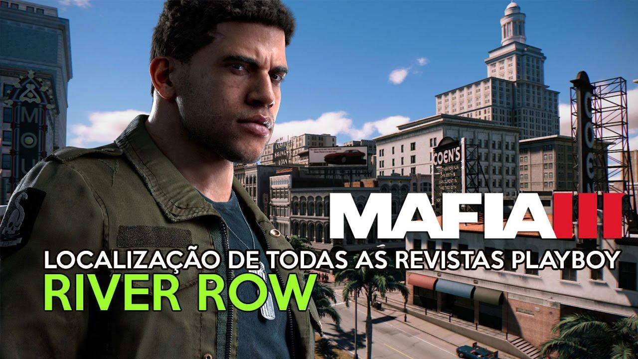 Mafia 3 - Localização de todas as revistas Playboy em River row