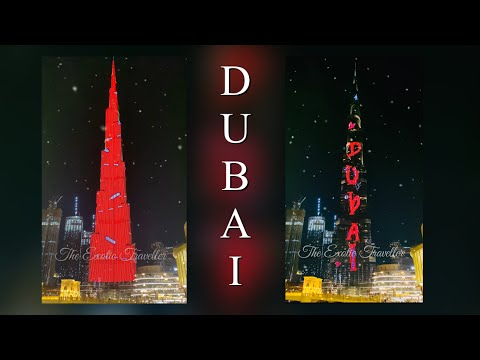 New Mobile Ringtone 2020 | Best Mp3 Mobile Ringtone | Dubai Light Show At The BURJ KHALIFA