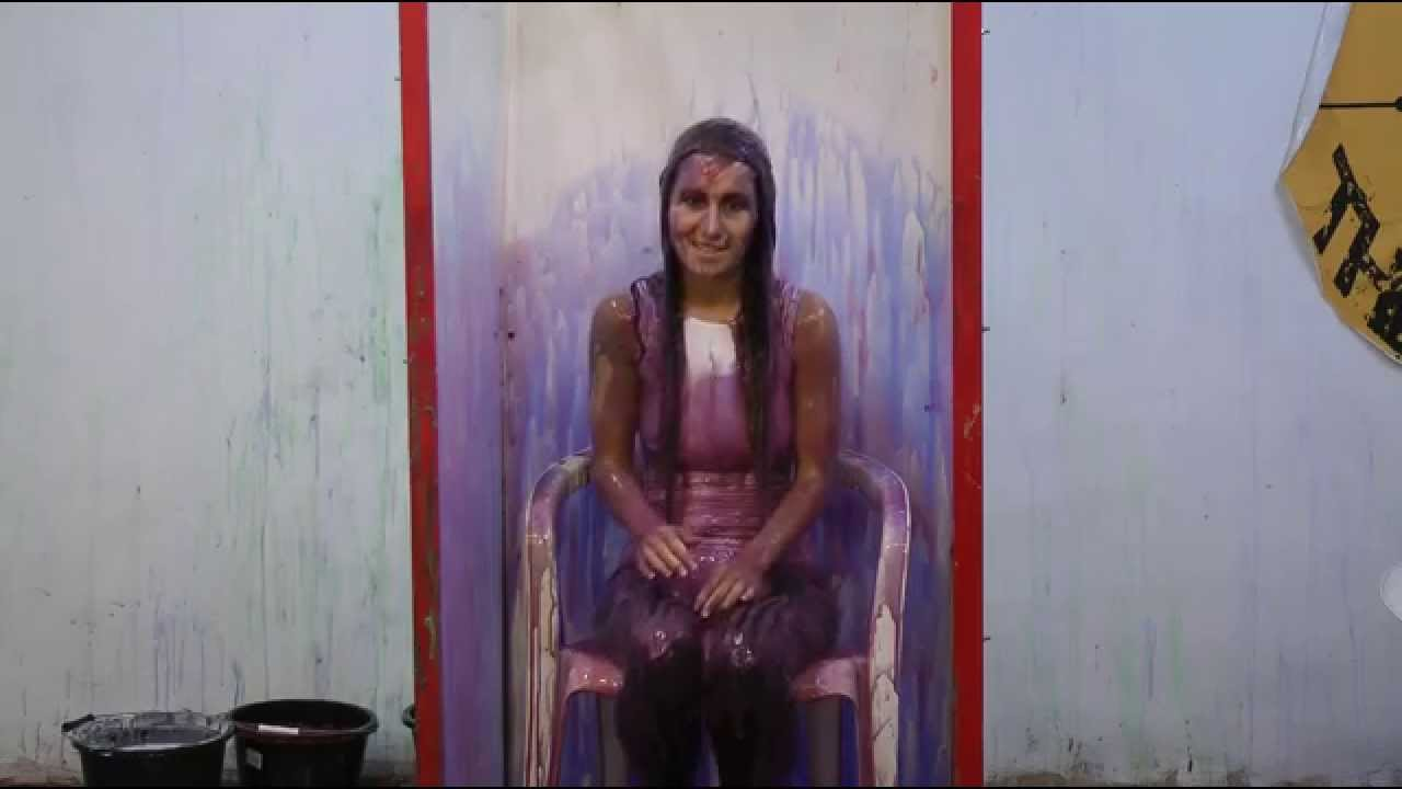 In tank teen topless gunge