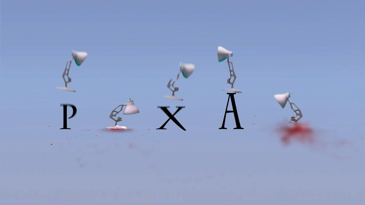197-Five Pixar Lamps Spoof Big Hit All Pixar Lamp Luxo ...