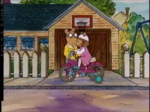 Arthur S1 EP 19 - D W  Rides Again and Arthur Makes the Team