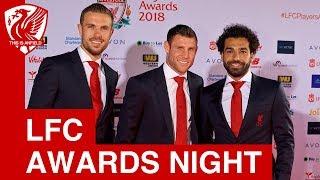 Liverpool FC Awards Night 2018 | Mo Salah wins Player of Season