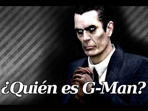 ¿Quién es G-Man? - L&V - Half Life