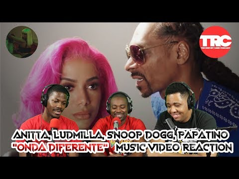 """Anitta With Ludmilla And Snoop Dogg Feat. Papatinho """"Onda Diferente"""" Music Video Reaction"""