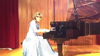 杉並区Gクレフピアノ教室 2019年9月発表会 講師演奏 「献呈」シューマン=リスト