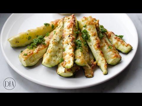Baked Zucchini Sticks Recipe [Delicious Food Adventures]