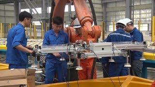 Tin Tức 24h  :Ninh Bình gấp rút đưa nhà máy kính tiết kiệm năng lượng, chất lượng cao vào hoạt động