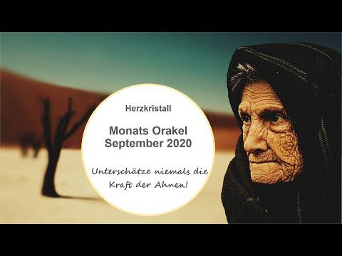 Monats Orakel September 2020 -Unterschätze niemals die Kraft der Ahnen!