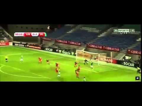 Gibraltar Vs Ireland 0 4. All Goals. EURO 2016 Qualification 4/09/20