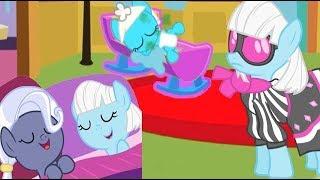 Растим пони Фото Финиш из мультика My Little Pony в игре карманная пони. Кормим пони,  купаем