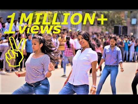 East West Institute of Technology || BANGALORE || EWIT AAKRITI 2k17 FLASHMOB