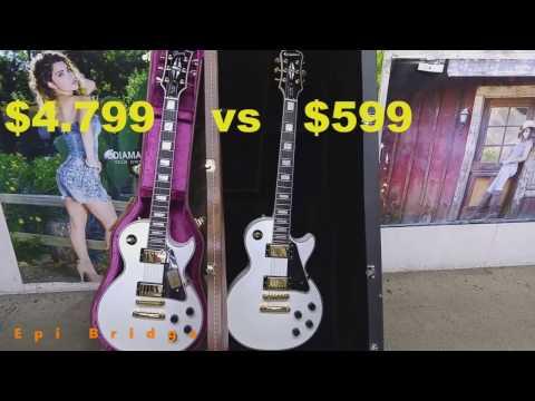 Gibson Les Paul Custom vs Epiphone Les Paul Custom Pro