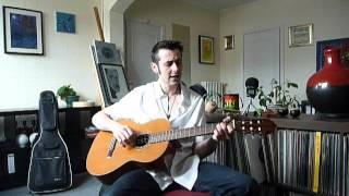 Tutoriel - Guitar lesson - Hit the road Jack R.Charles DEBUTANT