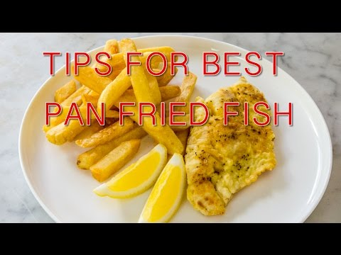 EASY TIPS TO COOK THE BEST PAN FRIED FISH LIKE SNAPPER, KAHAWAI AND YELLOWTAIL KINGFISH