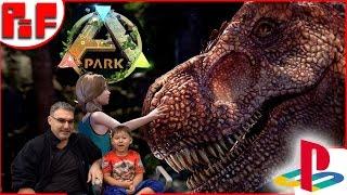 ark park teaser trailer ps4 reaction 5yo gabriel reviews
