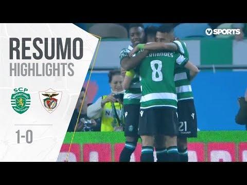 Highlights | Resumo: Sporting 1-0 Santa Clara (Liga 18/19 #26)