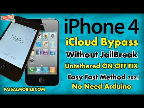 iPhone 4 iCloud BYPASS ON MACOS Free No Need JailBreak No Need Arduino