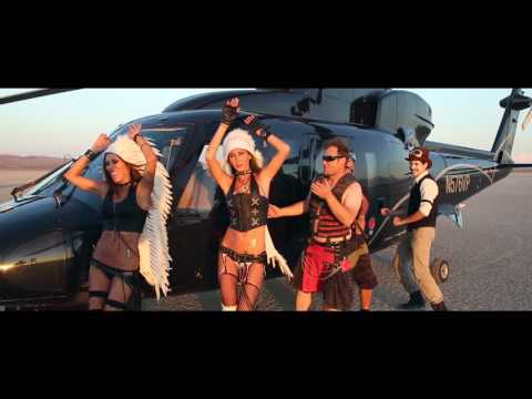 Burning Man Express Helicopter