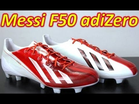 Messi Adidas F50 adizero miCoach 2 Synthetic Unboxing + On Feet
