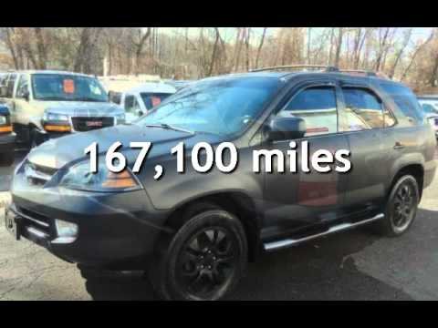 Acura MDX Touring X MAT BLACK ON BLACK LEATHER WARRANTY For - Acura mdx 2003 for sale