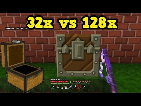 Minecraft BEDROCK 128x Texture Packs - How Much Better Are They?