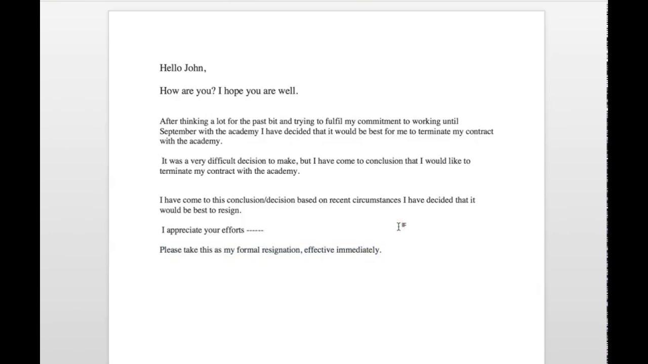 Resignation Letter Tagalog Sample from i.ytimg.com